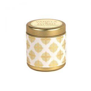 Vanilla + Myrrh Mini Tin Candle