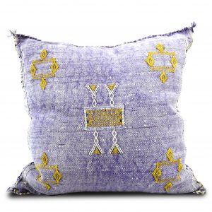 Purple Sabra Pillow