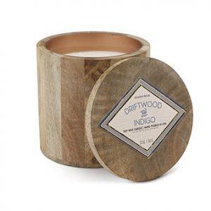Driftwood + Indigo Candle