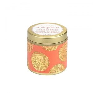 Amber + Smoke Mini Tin Candle