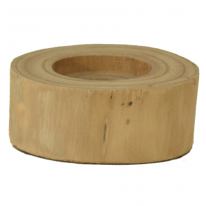 Wood Tealight