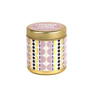 Lavender + Cassis Mini Tin Candle
