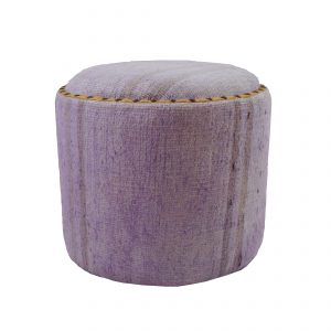 Purple Hemp Ottoman