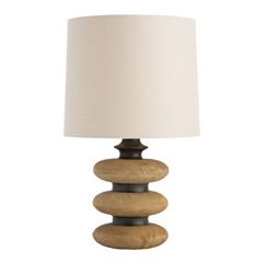 3 Tier Wooden Lamp