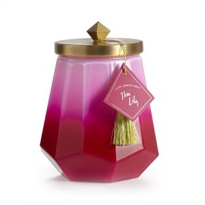 Thai Lily Geo Candle
