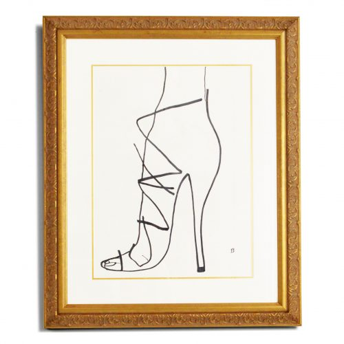 Framed Shoes Heels By Billy Cone