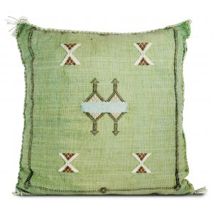 Green Sabra Pillow