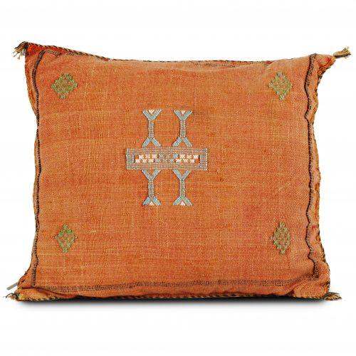 Orange Sabra Pillow