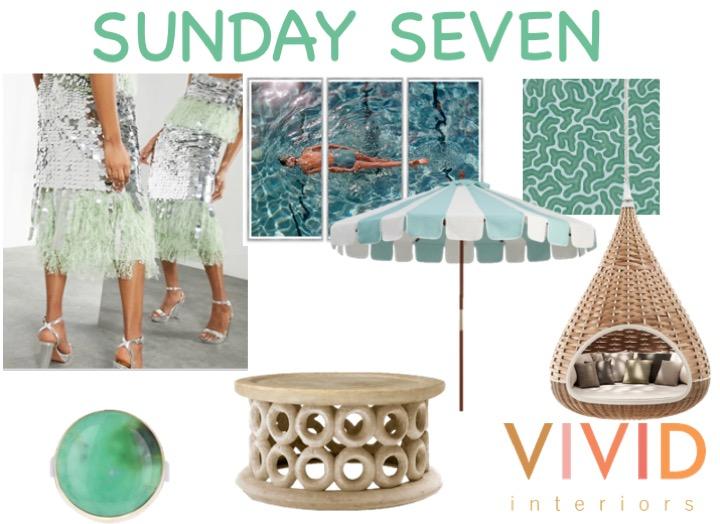 sunday seven live vivid sparkly shine shimmer